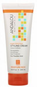 Andalou Naturals Styling Cream, Argan Oil and Shea