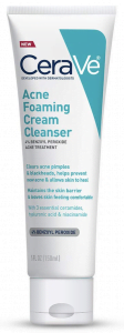 Cerave, Acne Foaming Cream Cleanser
